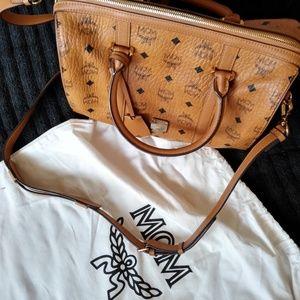 PRICE DROP!!! MCM medium size Boston shoulder bag.